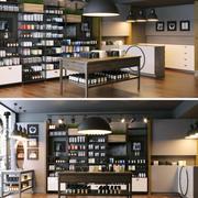Parfumerie winkel 3d model