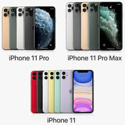 iPhone 11 Pro и iPhone 11 Pro Max и iPhone 11 все цвета 3d model