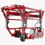 Ciężki wózek widłowy 3d model