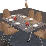 table set 3d model