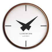 Zestaw zegarów ściennych 24 3d model