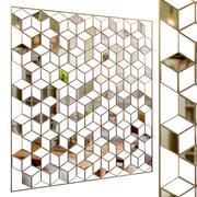 Decorative partition set 15 3d model