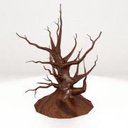 Scary Dead Tree 3d model