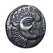 celtic coin 3 3d model