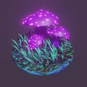 fe svampar 3d model