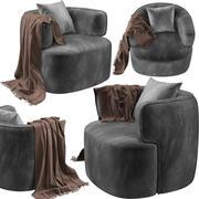 Zito Living ZB-03扶手椅 3d model