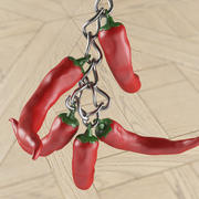 Chili pepper trinket for 3d print 3d model