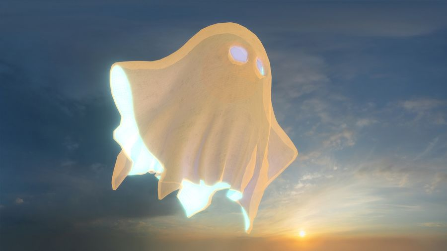 Ghost royalty-free 3d model - Preview no. 4