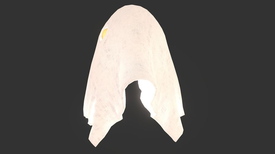 Ghost royalty-free 3d model - Preview no. 6