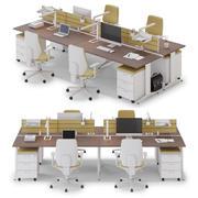 Spazio di lavoro di Office LAS OXI v6 3d model
