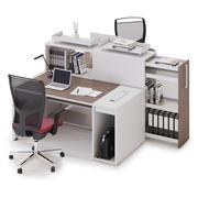 Spazio di lavoro di Office LAS LOGIC v2 3d model