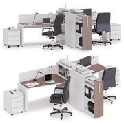 Área de trabalho do escritório LAS LOGIC v12 3d model