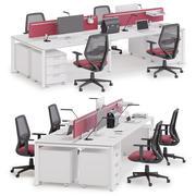 Ofis çalışma alanı LAS 5TH ELEMENT v3 3d model
