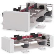 Ofis çalışma alanı LAS 5TH ELEMENT v7 3d model