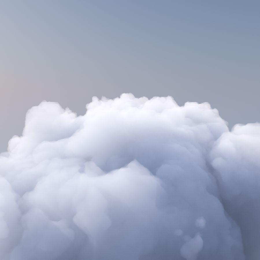 Polygon Cloud 2 royalty-free 3d model - Preview no. 4