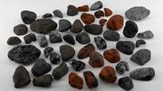 Multi Rocks Pack 3d model