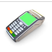 Credit Card EFTPOS Terminal 3d model