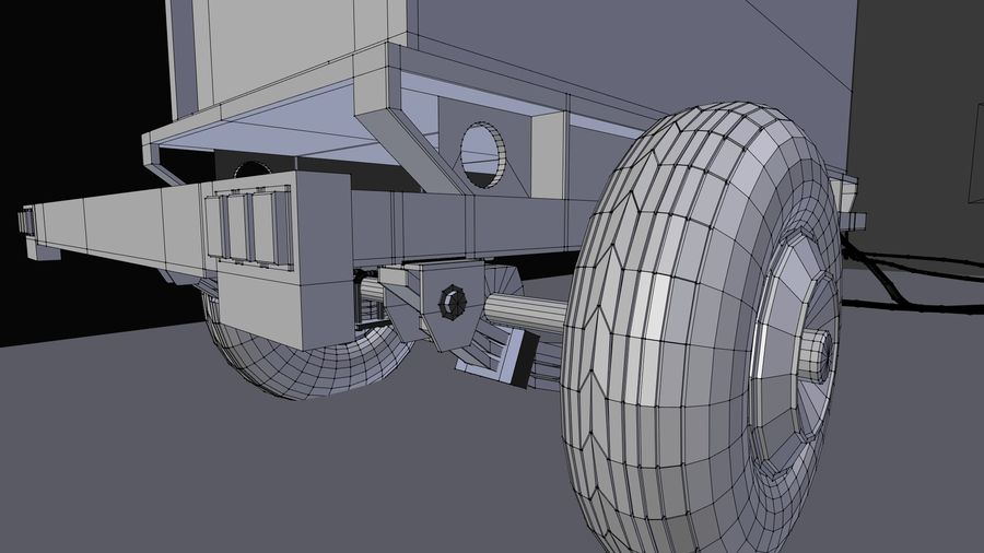 industrial generator royalty-free 3d model - Preview no. 6