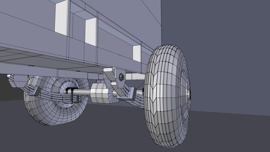 industrial generator royalty-free 3d model - Preview no. 10