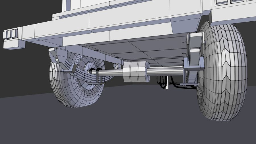 industrial generator royalty-free 3d model - Preview no. 7