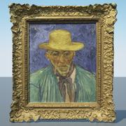 Vincent van Gogh - Portrait of a Peasant 3d model