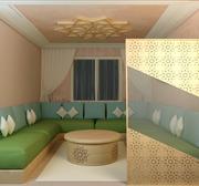 Salón marroquí modelo 3d