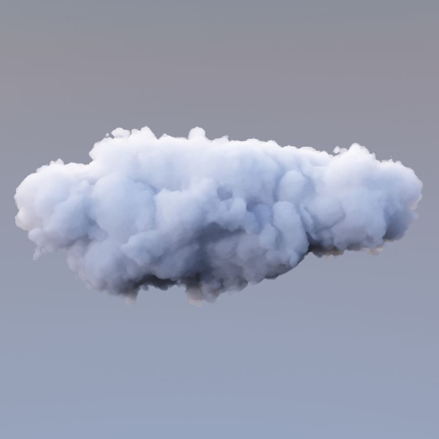 Nuage de polygone 16 royalty-free 3d model - Preview no. 3