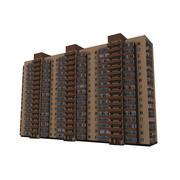 Murhus i flera våningar 3d model