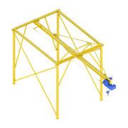 Ascenseur industriel - Interfom 3d model