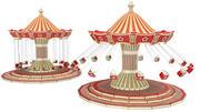 Balanço do parque de diversões 3d model