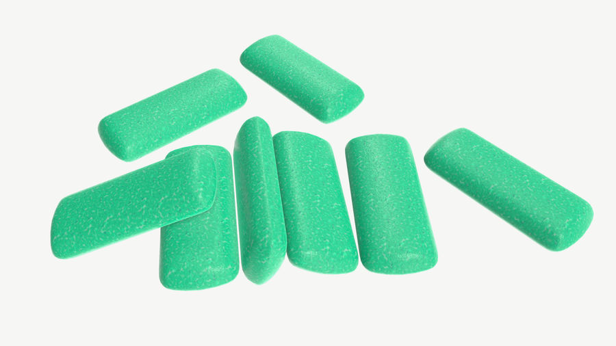 Chewing gum 04 royalty-free 3d model - Preview no. 2
