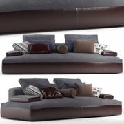 glow in sofa 3d model