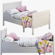 Ikea Sundvik 3 Bett 3d model