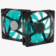 pc fan 120mm 3d model