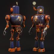 robot à vapeur 3d model