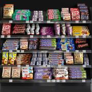 食料品店 3d model