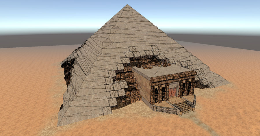 Pyramid royalty-free 3d model - Preview no. 14