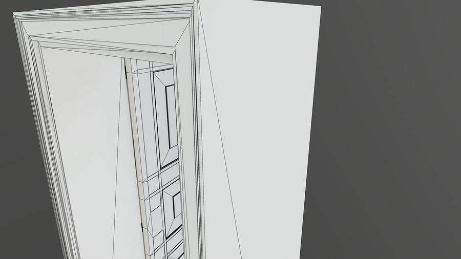 Deur en kozijn 1 royalty-free 3d model - Preview no. 10