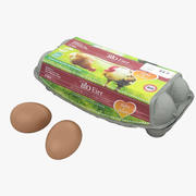 Egg Carton 002 3d model