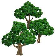 英亩树木-树木04 3d model