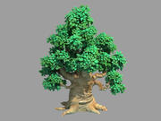 Hektar Wald - Baum 05 3d model