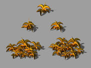 City - Barbed bush 3d model