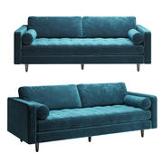 Artikel Pacific Blue Sven Sofa 3d model