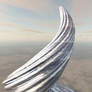 Swirling Tower 3d model