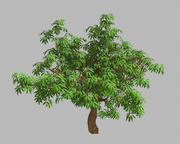Острые листья - дерево 33 3d model