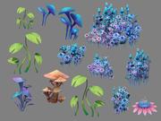 Planta de juego modelo 3d