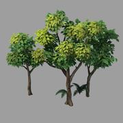 Växter - buskar 58 3d model