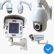 CCTV Camera Security Pack 3d model
