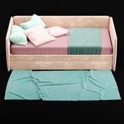 Child bed 3d model