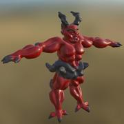 Monster 02 Not Rigged PBR 3d model